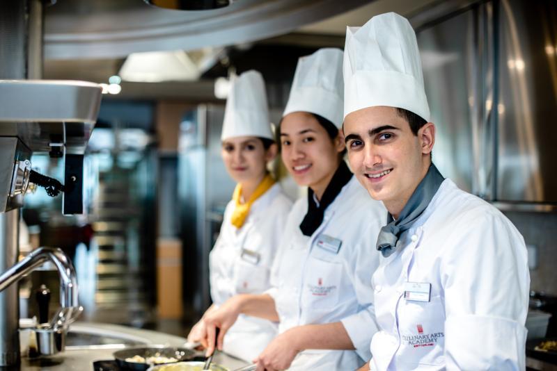 CAAS international chef education