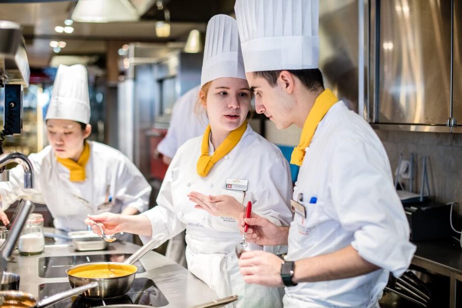 Kansainvälinen kokkikoulutus. Ammatillinen koulutus.