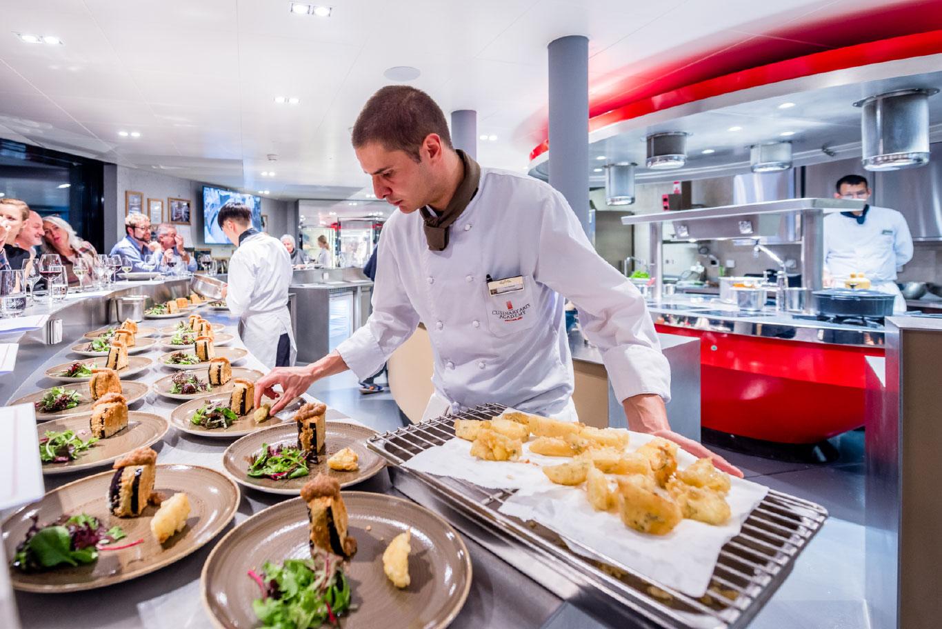 study vegetarian culinary art europe